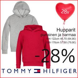Jasmin 28v! Tommy Hilfiger huppareita -28% Tarjous…