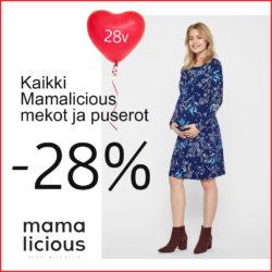 Jasmin 28v! Kaikki Mamalicious äitiys- ja imetyspuserot…