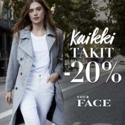 Your Facella to-su kaikki takit -20% Luhta aclass -kortilla…