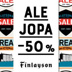 Finlaysonilla alkoi ALE!