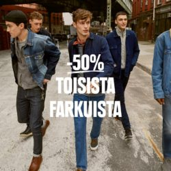 -50% TOISISTA FARKUISTA VOIMASSA TO 26.9-SU 29.9.