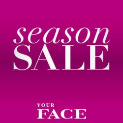 Nyt Your Facella paljon alkusesongin tuotteita jopa -50%!