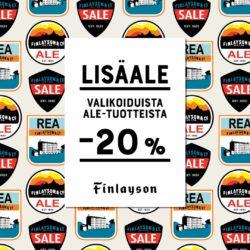 (Finlayson) ALE kiihtyy Finlayson-myymälässä! Tervetuloa tekemään kesän…