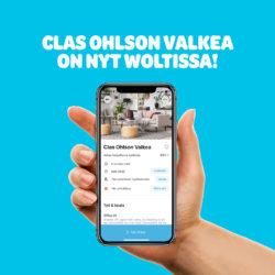 (Clas Ohlson) Clas Ohlson yhteistyössä Woltin kanssa