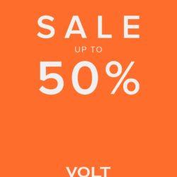 (Volt) Kaikki aletuotteet merkitty uusilla alehinnoilla Sale up to 50%