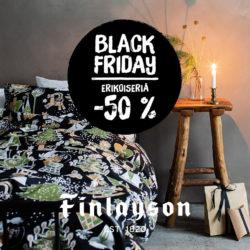 (Finlayson) Black Friday jatkuu ma 30.11. saakka! -50 % valikoiduista…