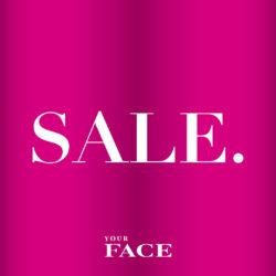 (Your Face) Ale on alkanut Nyt syyssesongin tuotteita jopa -60% alennuksella!