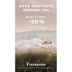 (Finlayson) Tutustu uusiin vastuullisiin vuodevaatteisiin Tuotteita sekä…