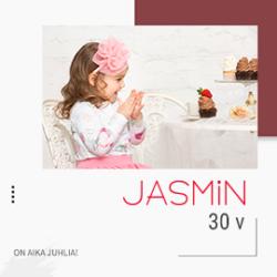 (Jasmin lasten- ja äitiysasut) Jasminin synttärihulinat myymälässä ja…