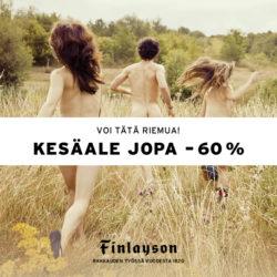 (Finlayson) Kesäale alkoi nyt Finlaysonilla! Kiiruhda ostoksille ja poimi…